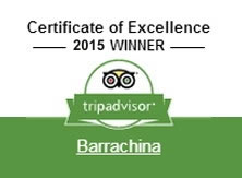 Certificate of Excellence, 2015 WINNER